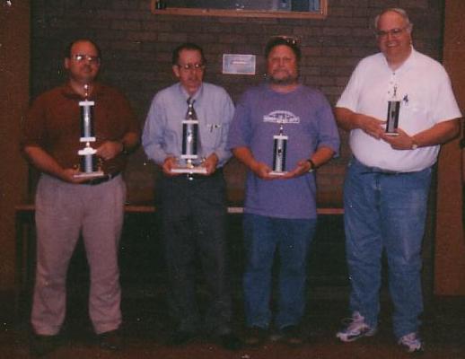 2001 tournament winners